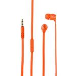 Audífono Trust Duga 3.5 mm Neón Naranja