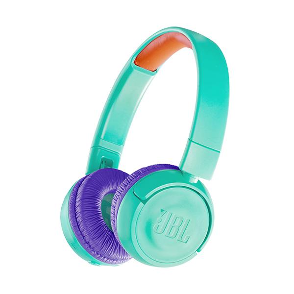 Audífono JBL Junior Bluetooth On ear Verde azulado