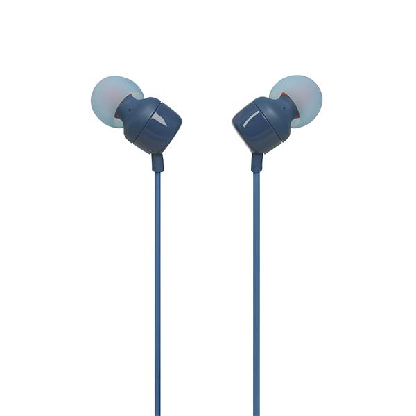 Audífono JBL T110 Alámbrico In Ear Azul