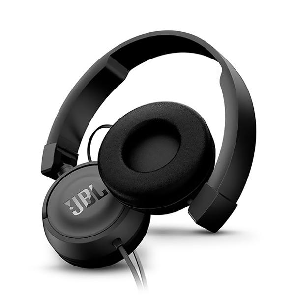 Audífono JBL T450 Alámbrico On Ear Negro
