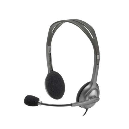 Audífono con Micrófono Logitech Alámbrico H111