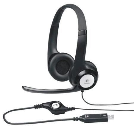 Audífono con Micrófono Usb Logitech H390