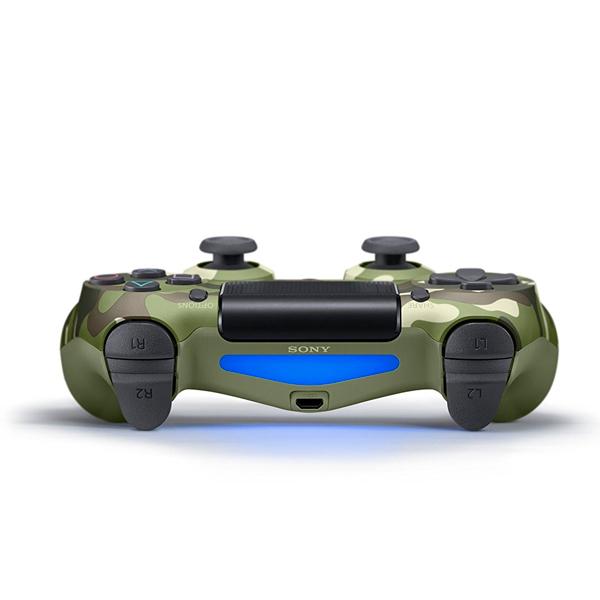 Control Inalámbrico DualShock 4 Verde Camuflado