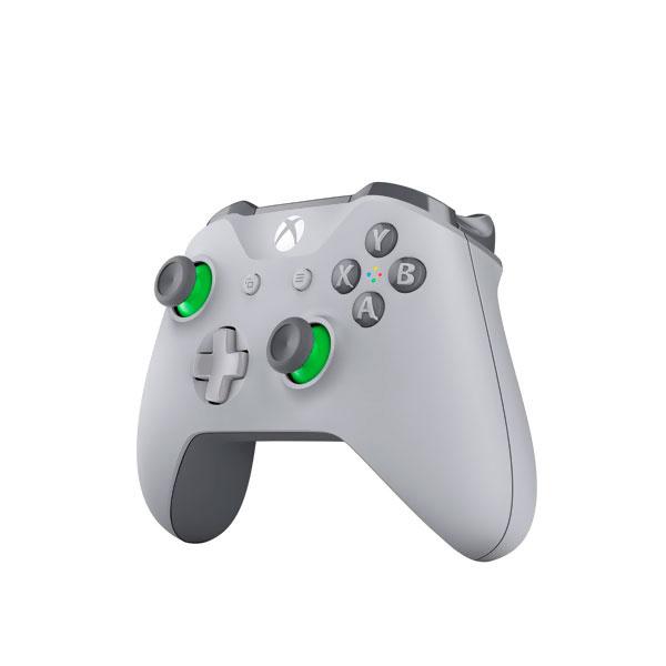Control Inalámbrico Xbox One Gris y Verde