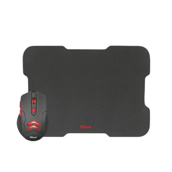Combo 2 en 1 Gamer Trust Ziva Mouse + Pad Mouse