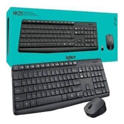 Combo Logitech Teclado + Mouse MK235