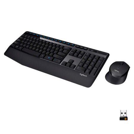 Combo Logitech Teclado + Mouse MK345 Inalámbrico