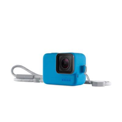 Funda y Cuerda GoPro Azul