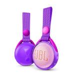 Parlante Jbl Bluetooth Jr Pop Iris Púrpura