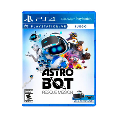 Juego PS4 Astro Bot Rescue Mission- PSVR