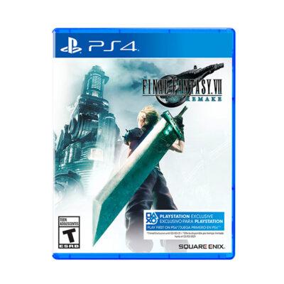Juego PS4 Final Fantasy VII Remake