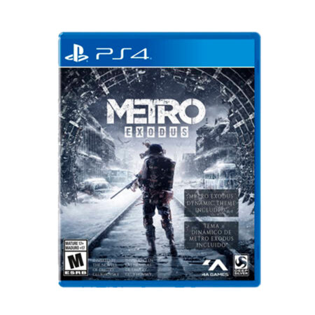 Juego PS4 Metro Exodus