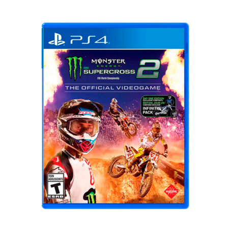 Juego PS4 Monster Energy Supercross 2