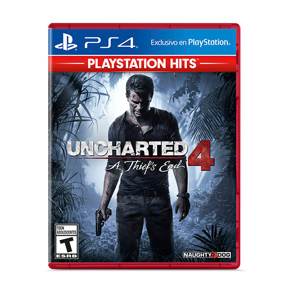 Juego PS4 Uncharted 4: A Thief's End Hits