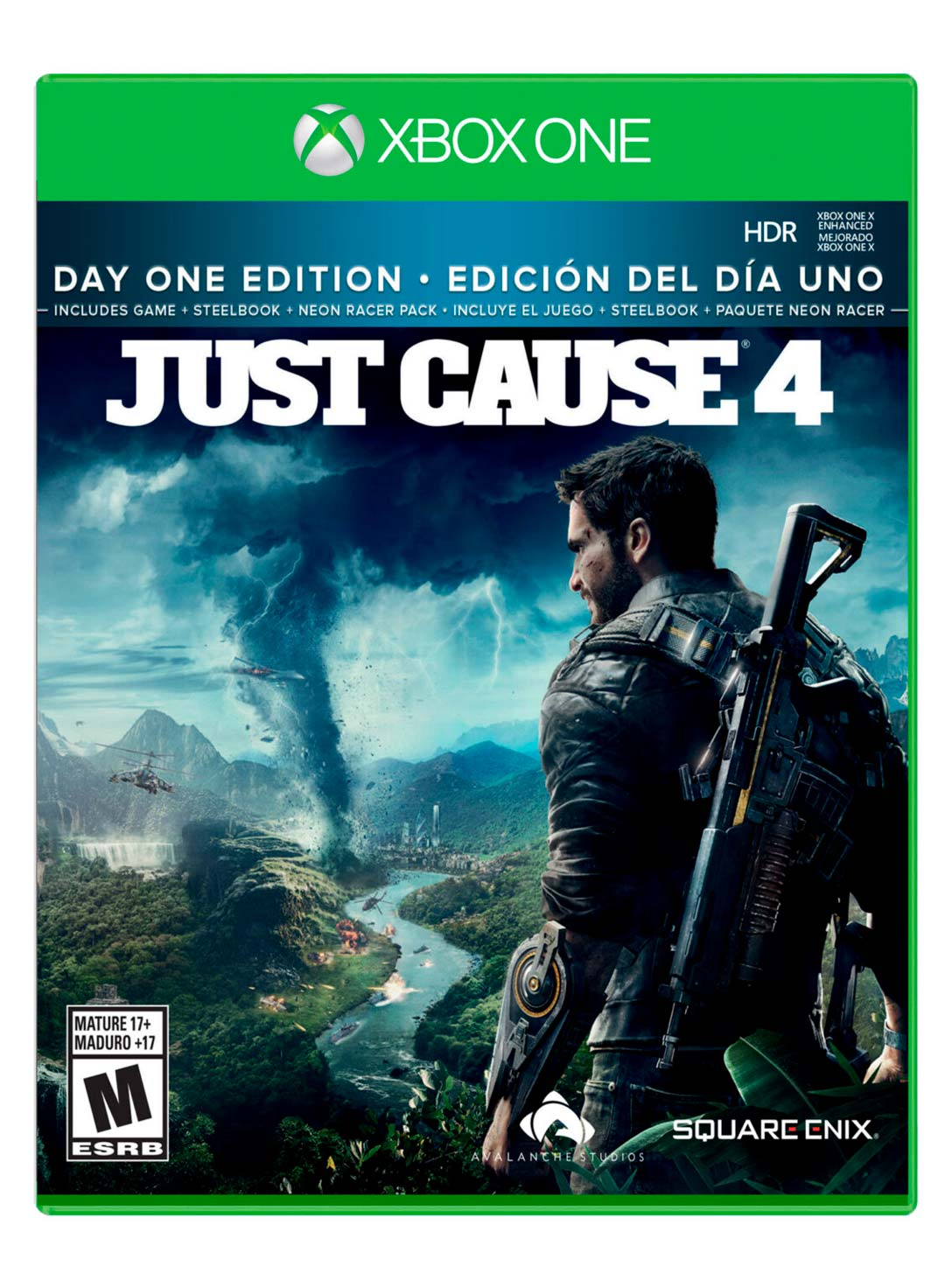 Juego Xbox One Just Cause 4 Day One Limited Edition