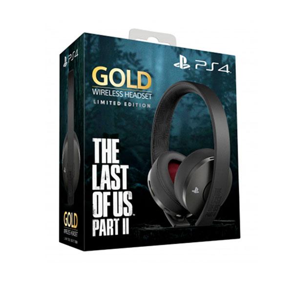 Audífonos PS4 serie Oro de Edición Limitada de The Last of Us Part II Inalámbricos