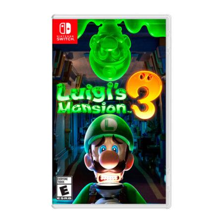 Juego Switch Luigi's Mansion 3