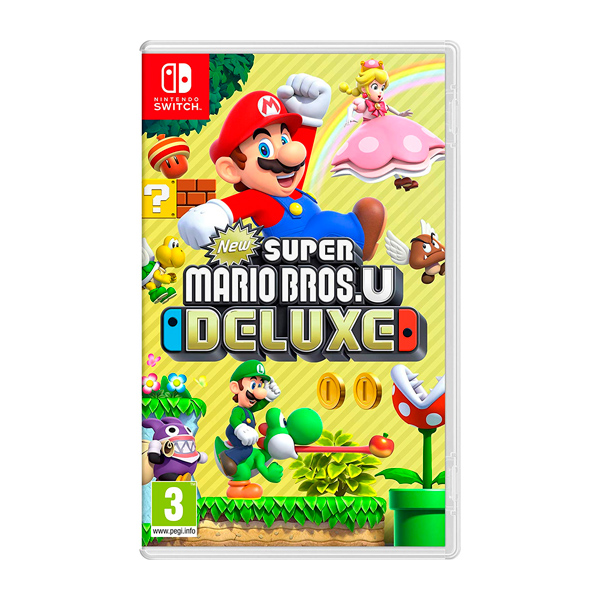Juego Switch New Super Mario Bros U Deluxe