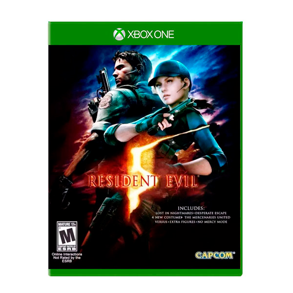 Juego Xbox One Resident Evil 5