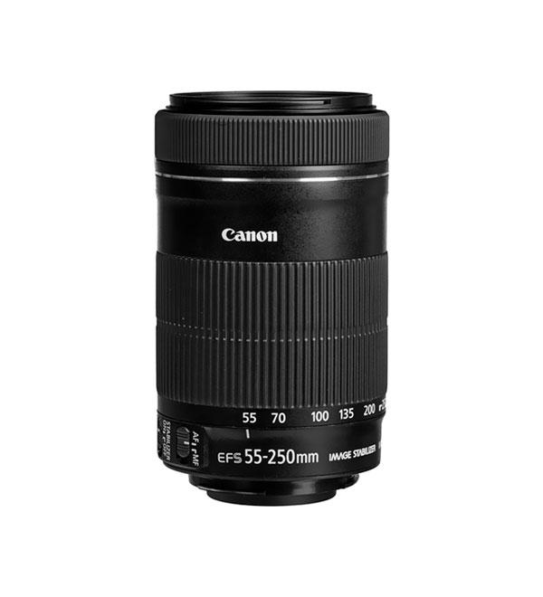 Lente Canon EF-S 55-250 mm f/4-5.6 IS STM