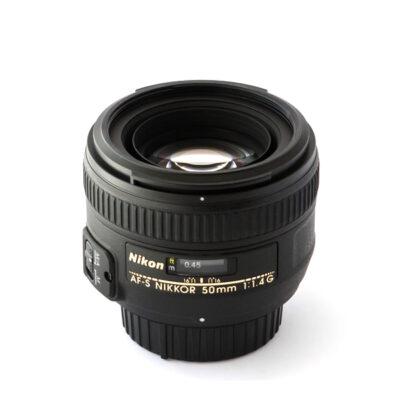 Lente Nikon AF Nikkor 50mm f/1.4 G
