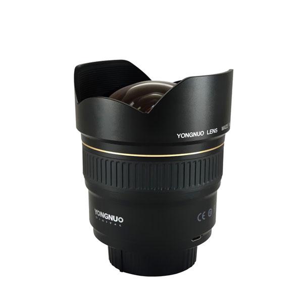 Lente YongNuo 14mm Gran Angular F2.8 Nikon