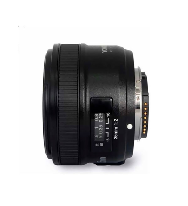 Lente YongNuo 35mm F2.0 Nikon