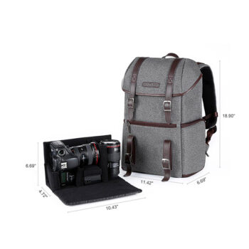 Morral de Viaje K&F Concept 13.080 DSLR