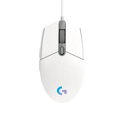 Mouse Logitech G203 Se Blanco RGB Alámbrico
