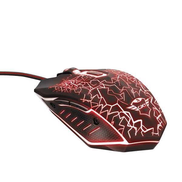 Mouse Gamer Trust Gxt 105 Izza Alámbrico Negro
