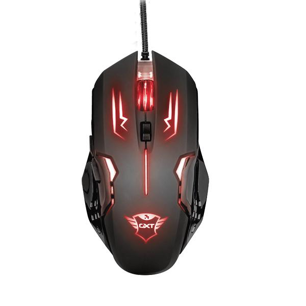 Mouse Gamer Trust Gxt 108 Rava Alámbrico Negro