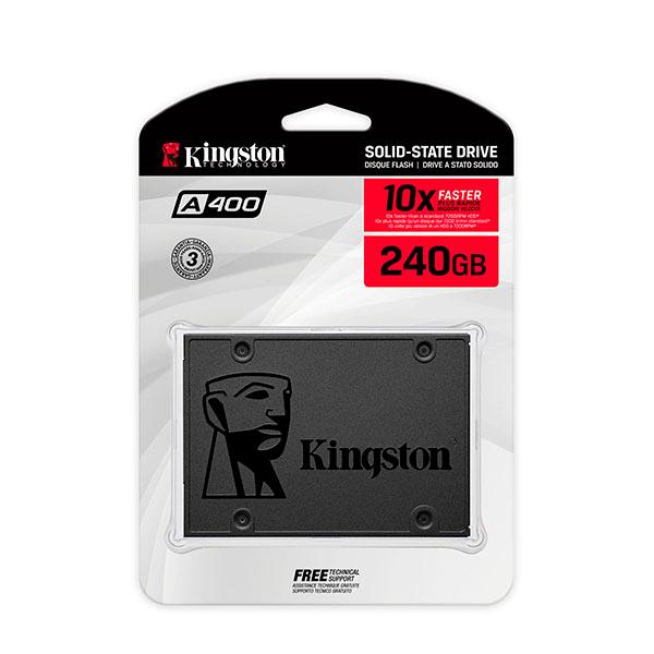 Disco Estado sólido SSD 240GB Kingston A400
