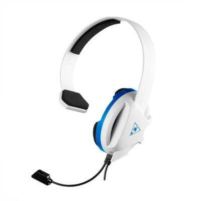 Audífono Turtle Beach Earforce Recon Chat Blanco Ps4 / Xbox One