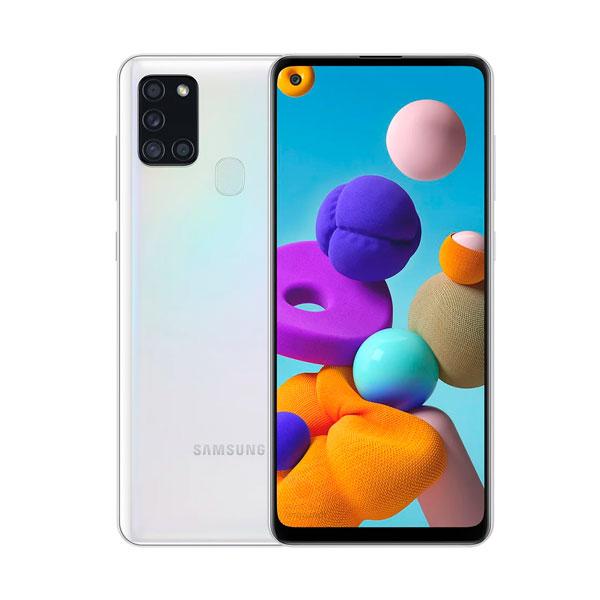 Celular Samsung Galaxy A21s 64Gb Blanco