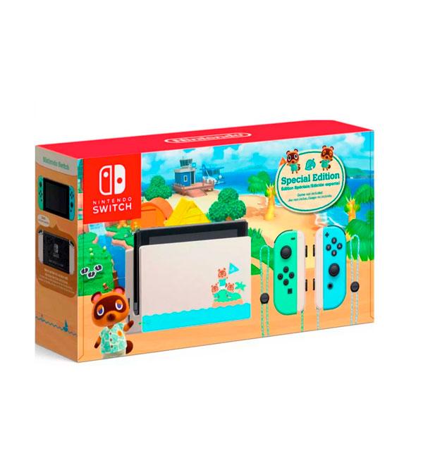 Consola Nintendo Switch Animal Crossing