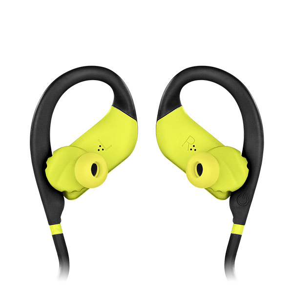 Audífono Jbl Endurance Dive In Ear Inalámbrico Negro-Amarillo