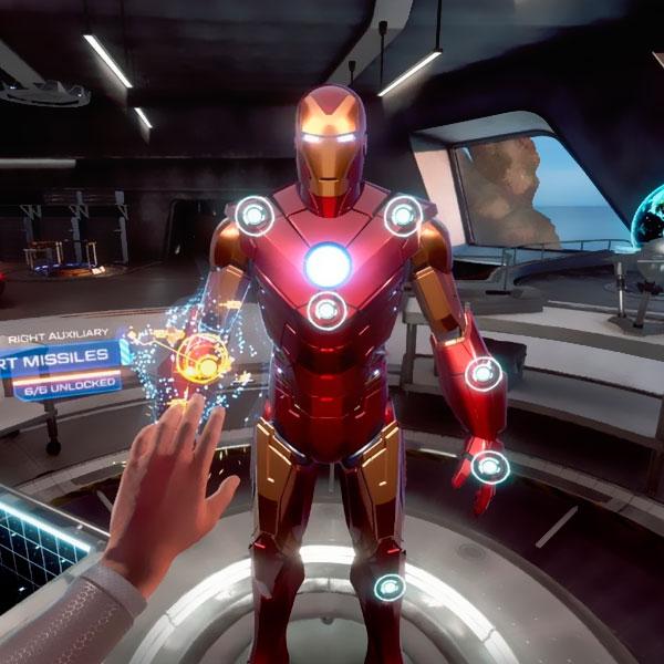Juego Iron Man Ps4 - Psvr