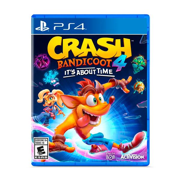 Juego Ps4 Crash Bandicoot 4 Its Abaut Time