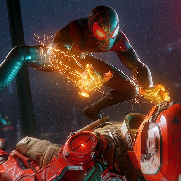 Juego Ps4 Spider Man Miles Morales
