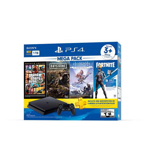 Consola PlayStation 4 Mega Pack Bundle v6