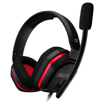 Audífono Astro A10 Call of Duty Rojo