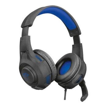 Audífono Gamer Trust Gxt 307B Ravu Negro Azul