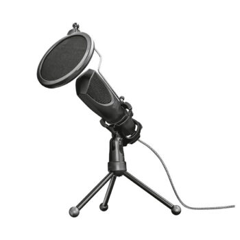 Micrófono Trust Gxt 232 Mantis Streaming Usb con Trípode