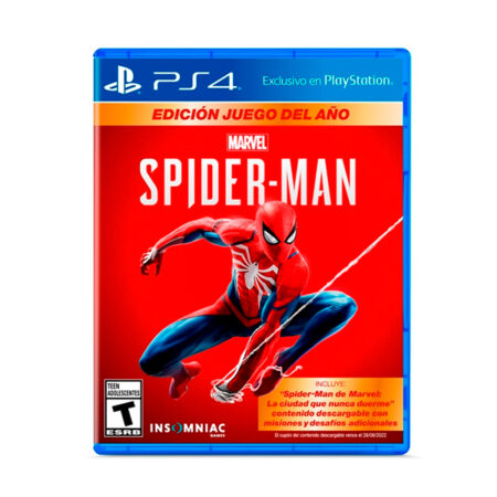 Juego PS4 Spiderman GOTY