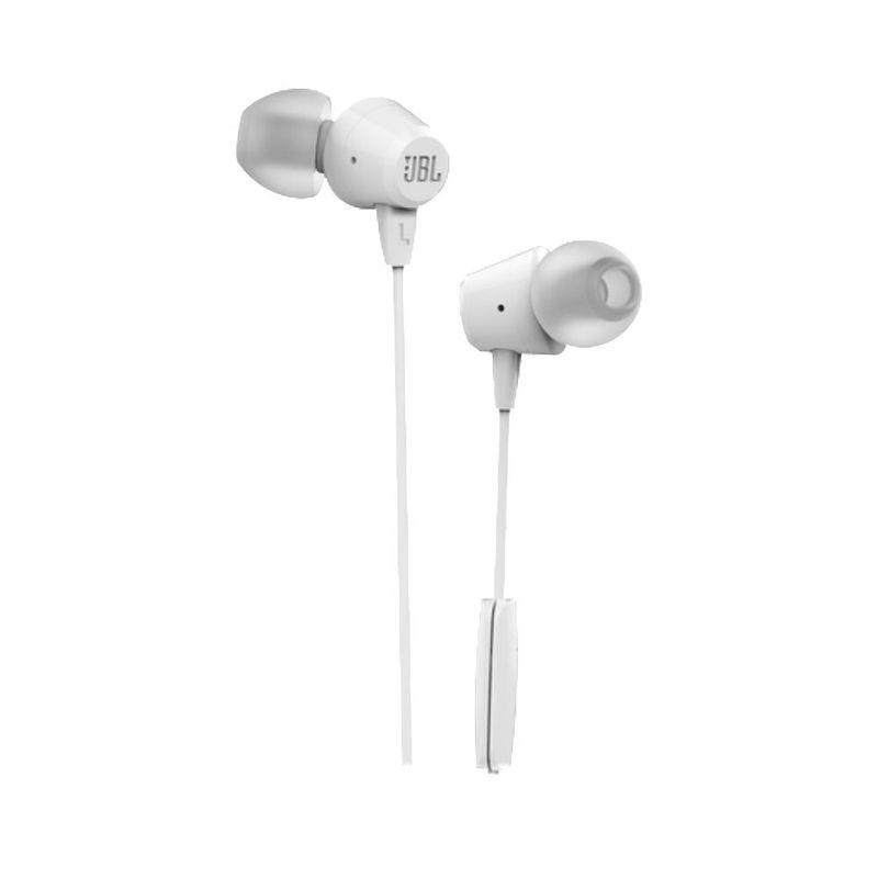 Audífono Jbl C50 HI Alámbrico In-Ear Blanco