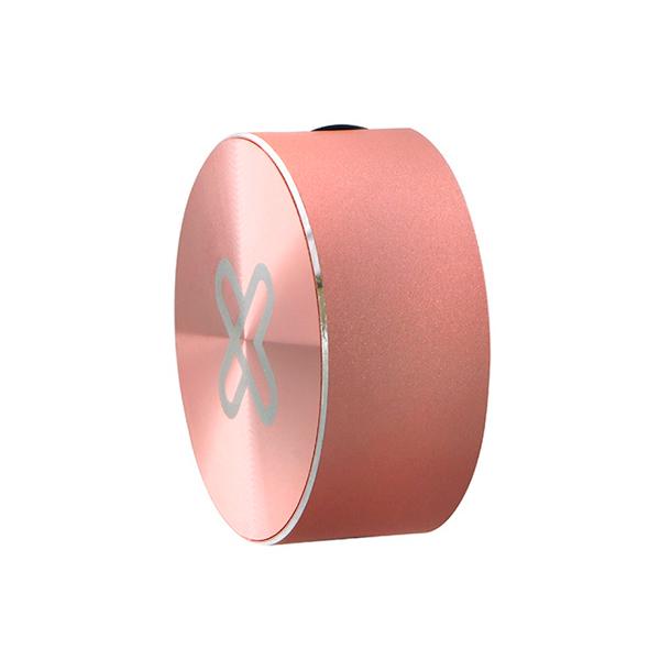 Cable retráctil USB Tipo-C Klip Extreme Oro Rosa
