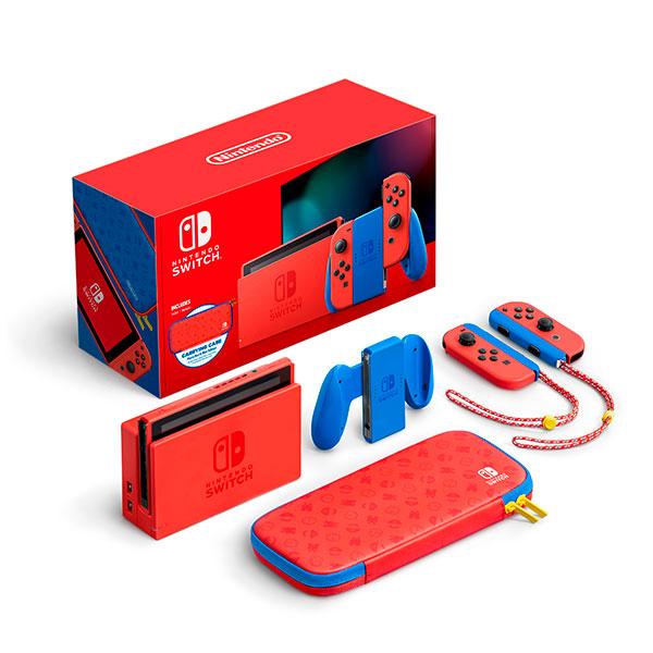 Consola Nintendo Switch Mario Red Blue