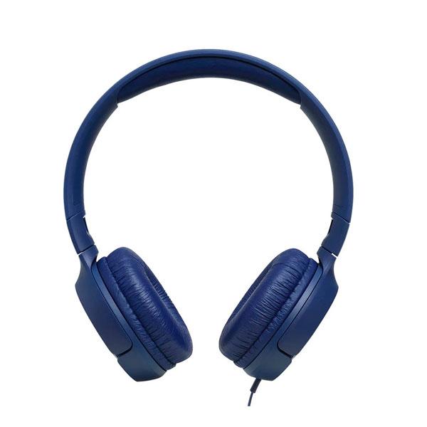 Audífono Jbl T500 Alámbrico Azul