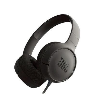 Audífono Jbl T500 Alámbrico Negro
