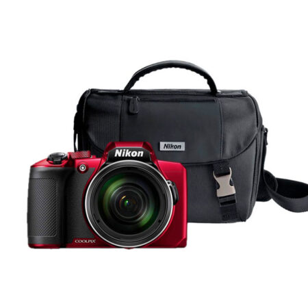 Kit Cámara Nikon B600 Maletín Roja